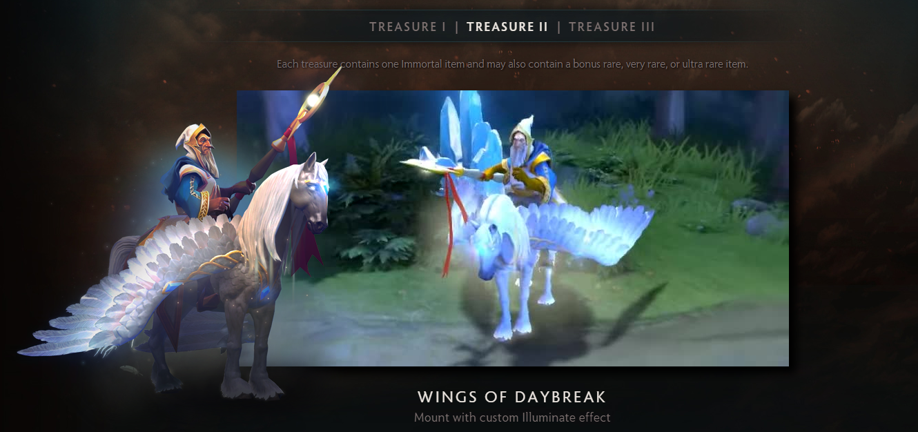 Dota 2 S Immortal Treasure 3 Launches: Immortal Treasure II Released